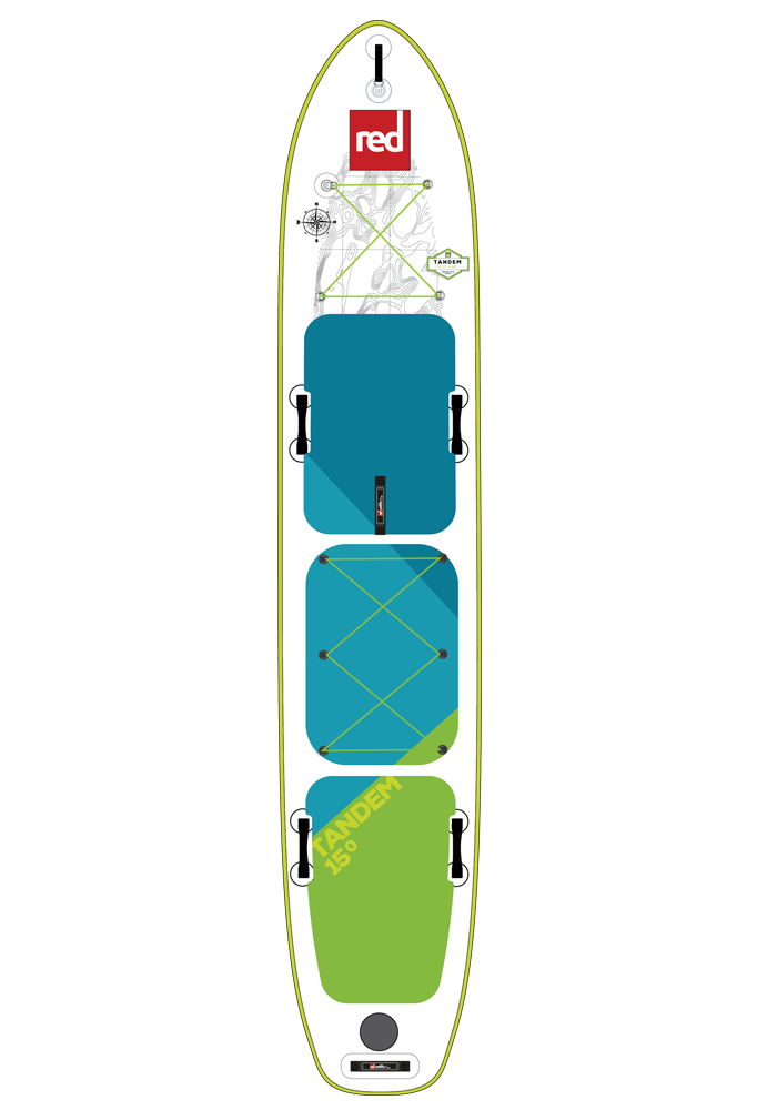 Red Paddle 15'0 VOYAGER TANDEM
