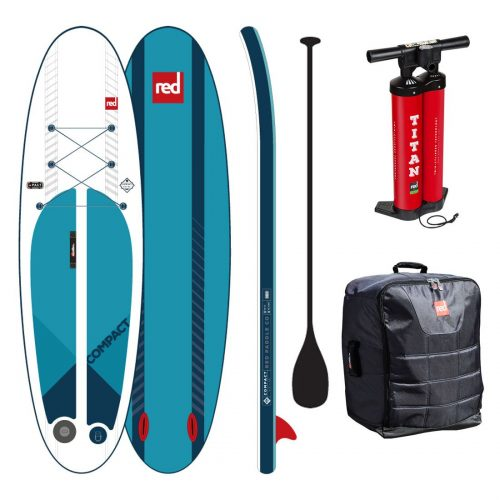 f1db33ccb Pack Red Paddle Co 9 6″ COMPACT + Remo + Leash Modelo 2019 (inclui saco e  bomba)